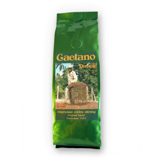Káva Gaetano Daneli espresso strong 250g - mletá