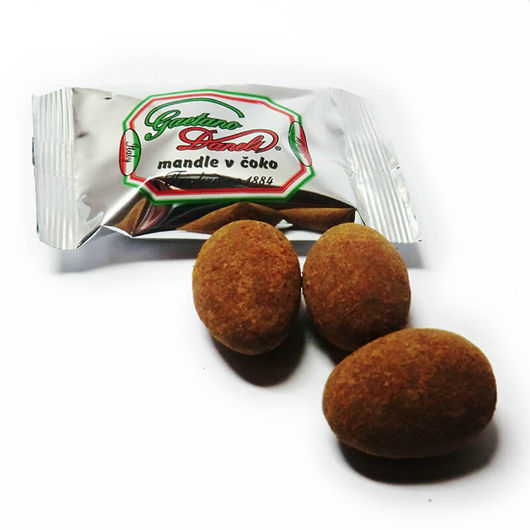 Gaetano Daneli mandle v čokoládě a skořici 10ks