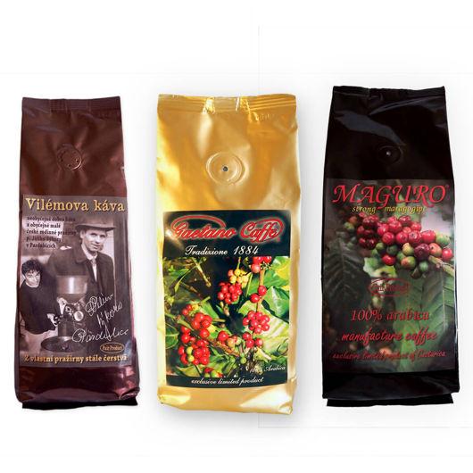 Výhodné Velikonoční balení zrnkových káv
